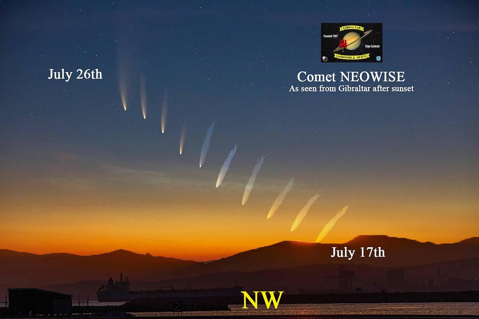 (PHOTOS) Comet Neowise Seen Over Humboldt County; Heres