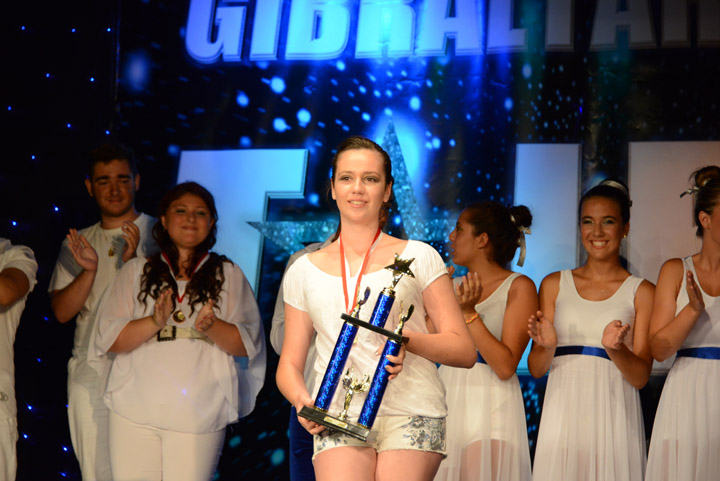 Gibraltar's Got Talent 2013 Winner - Chloe Enriles