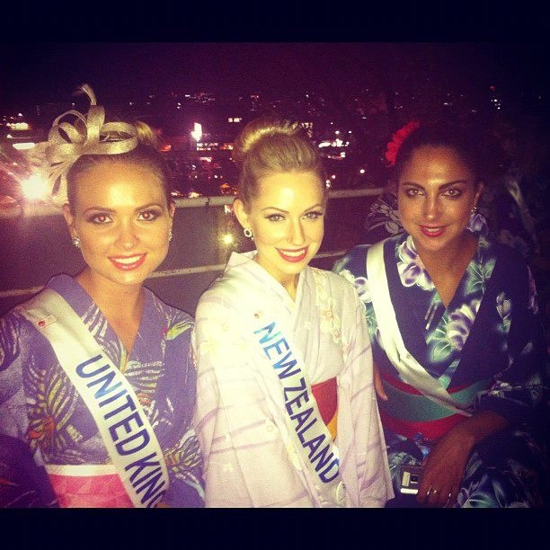 Miss International 2012 - Kerriane Massetti