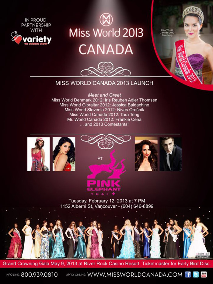 Miss Gibraltar in Canada