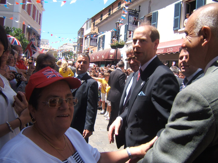 Royal Visit Gibraltar