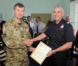 mod fire chief retires