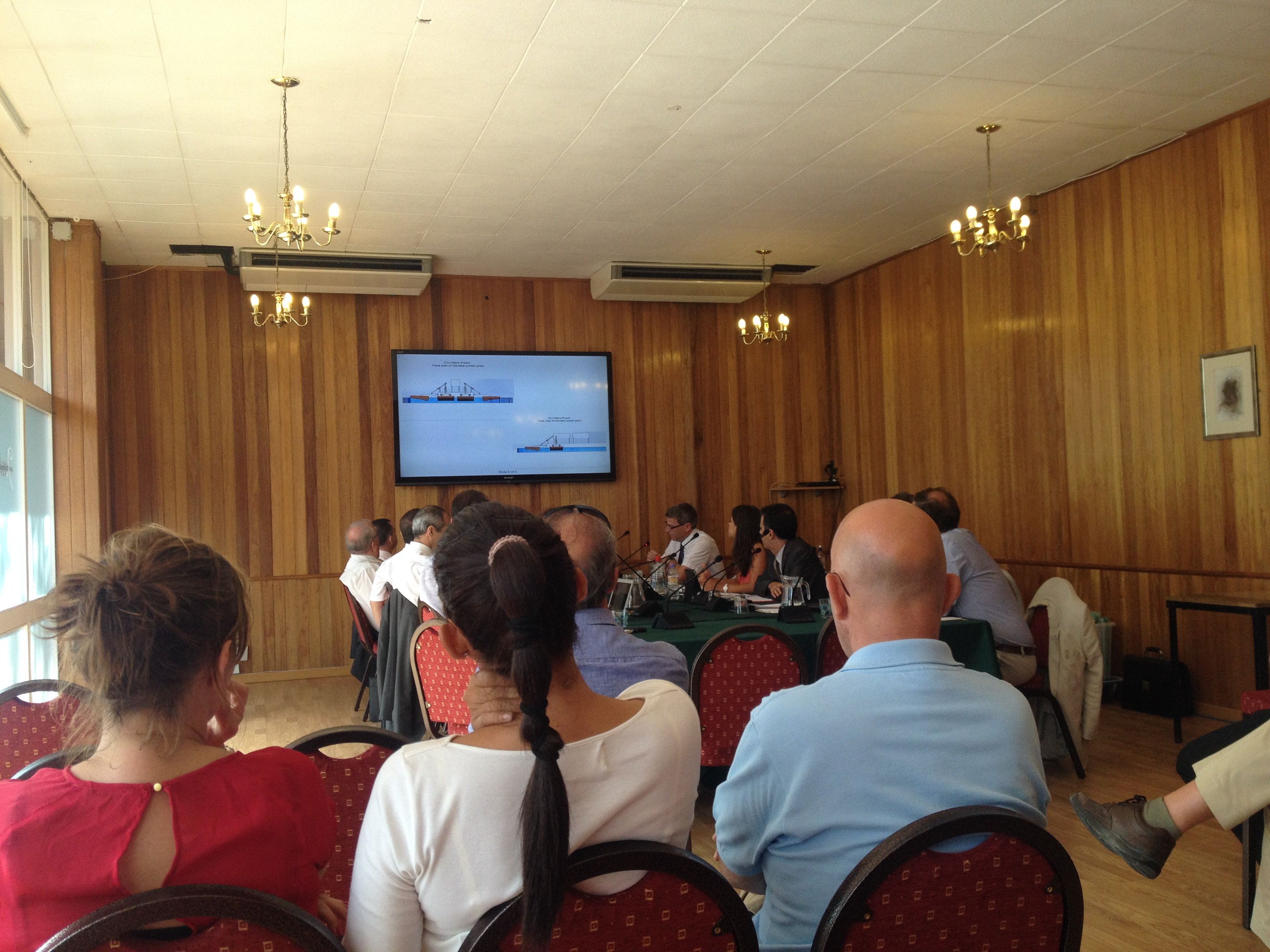 Jul 24 - DPC Discusses Inaugural Wave Generator for Gibraltar
