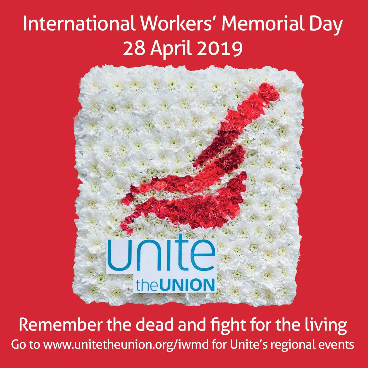 Apr 26 Unite S International Workers Memorial Day Message